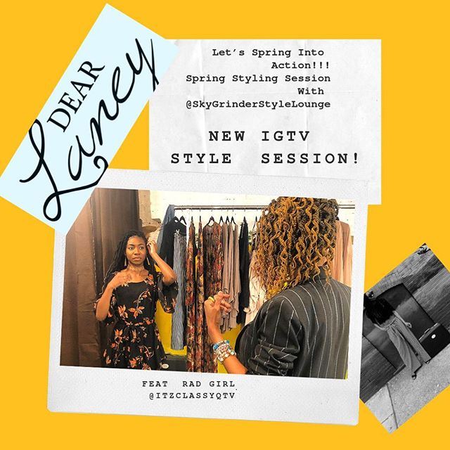 New style session video on our IGTV check it out!! Showing you our Miranda wrap dress! Styled by @skygrinderstylelounge featuring model @itzclassyqtv at our studio!!! 💛 💛 #dearlaneygang #philadelphiastyle #philadelphiaweekly #style #coachella #instafashion #onlineshopping #onlineboutique #phillyboutique #ootd #bgki #chic #radgirls