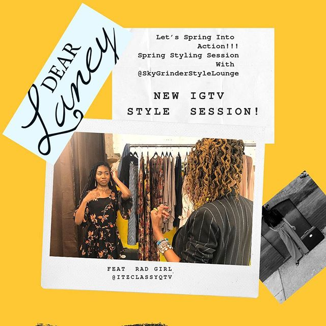 Have you checked out our IG TV video? New style session up now! 💛