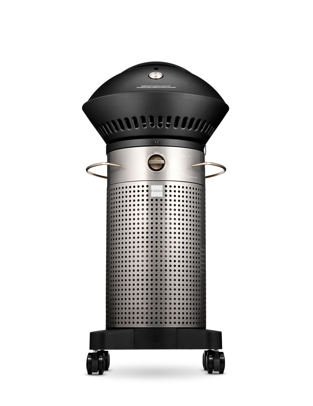 The grill is really attractively designed, and efficient as well.