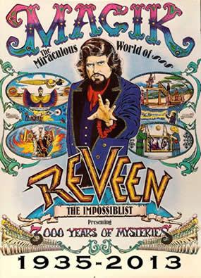Reveen poster 3000 years of myteries poster 1935-2013.jpg