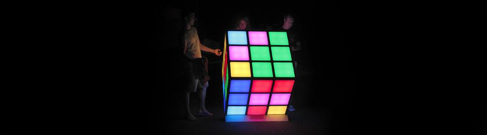Giant interactive rubik's Cube