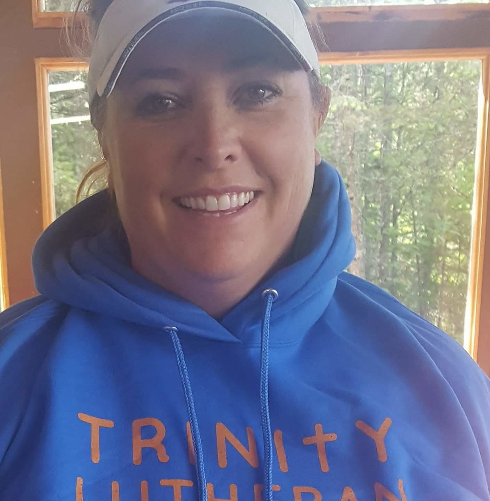 Melanie Reiner - Hello from Camp Trinity! My name is Melanie Reiner and I am the Program Director at camp. I am married to my best friend Nathan, and we have 3 children that have been raised at camp. Camp is an amazing ministry and I love watching the campers grow in their faith while at camp through Bible study, music, art, talent, friendship, and laughter. Camp is one of my favorite places and I enjoy watching people of all ages grow in their faith in an outdoor setting.Contact Melanie regarding Youth Camps at camptrinity@gmail.com