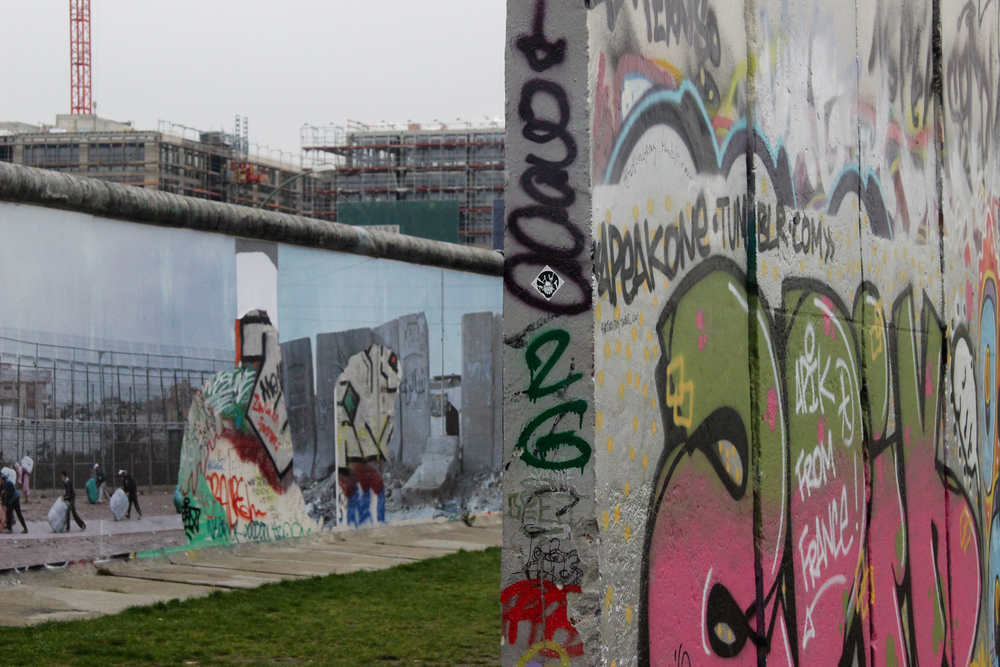 WALLONWALL by Kai Wiedenhöfer, East Side Gallery Berlin