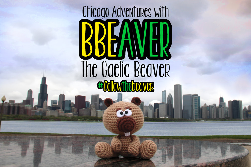#followthebeaver - BBEaver, the official mascot of the BBE's A Gaelic Summer program, explored Chicago ahead of the BBE's pub crawl (June 14-16, 2017). Check out her adventures by clicking the button!