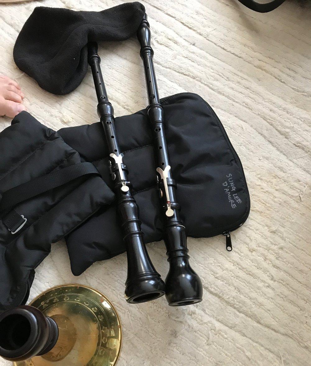 Baroque oboe + Oboe d'amore