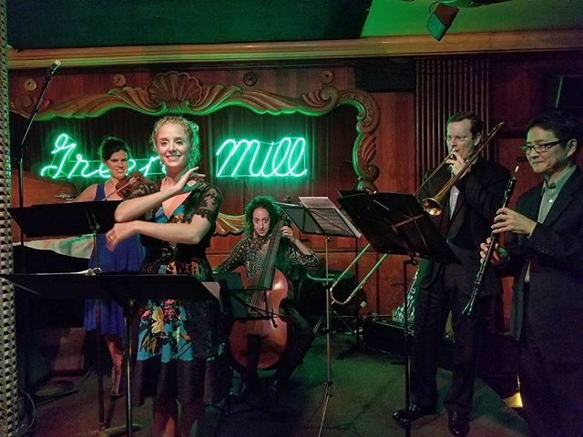 OMG we played The Green Mill! @greenmillcocktail