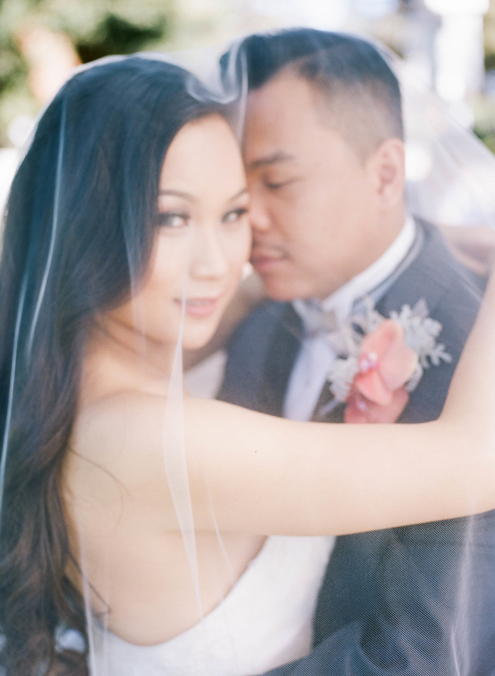 Second Shooter: Tom Masaru IG @tomasaru   Videographer:   Tri Luu Films      Hair & Make up: Wendy Tran IG @berry_wendy    Venue:   Oakland Asian Cultural Center      Florals:   Vo Floral Design   Event Design:   1000 Fine Events