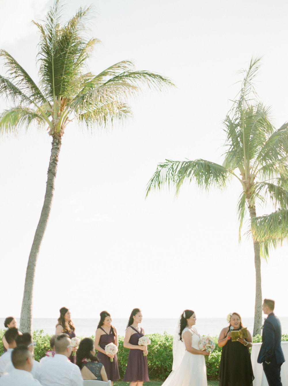 Paradise Cove Oahu Fine Art Wedding Destination Photographer