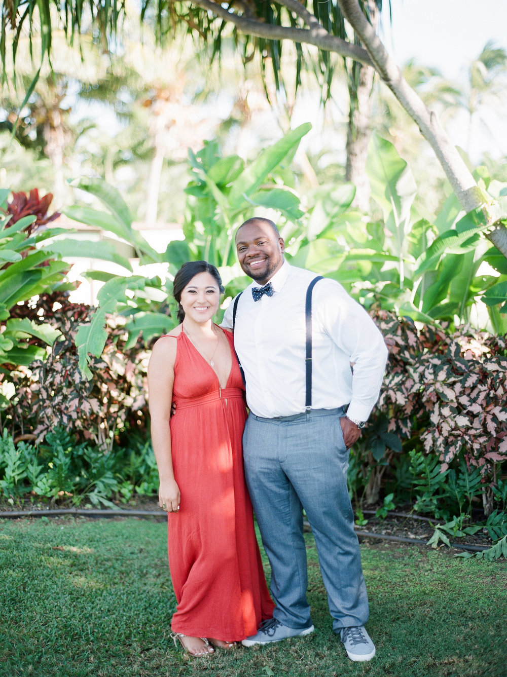 Paradise cove hawaii destination wedding film photographer
