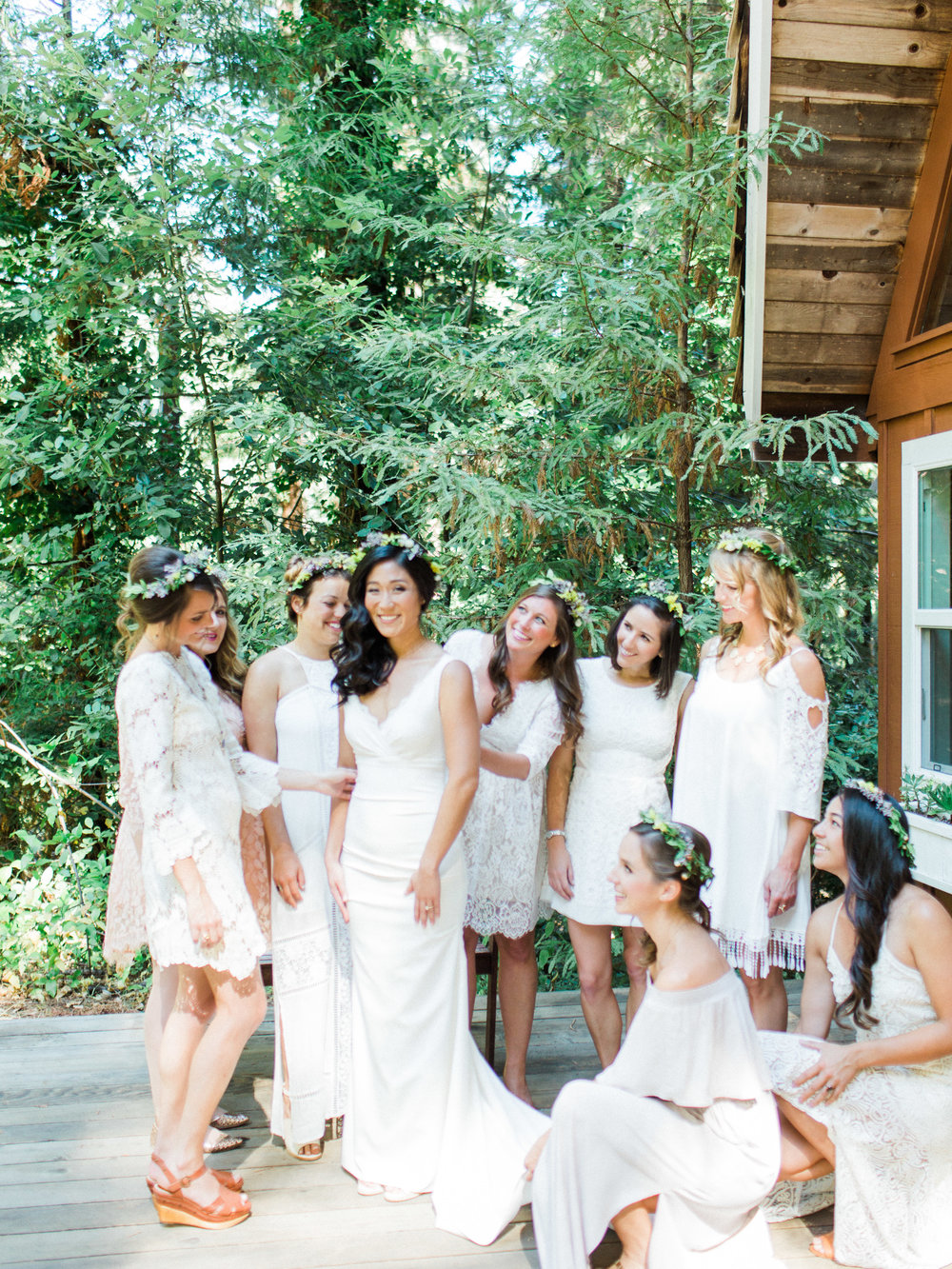 sequoia Retreat Center Ben Lomond Film Wedding Photographer