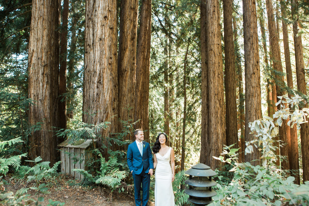 Sequoia Retreat Center Fine Art Film Wedding Photographer