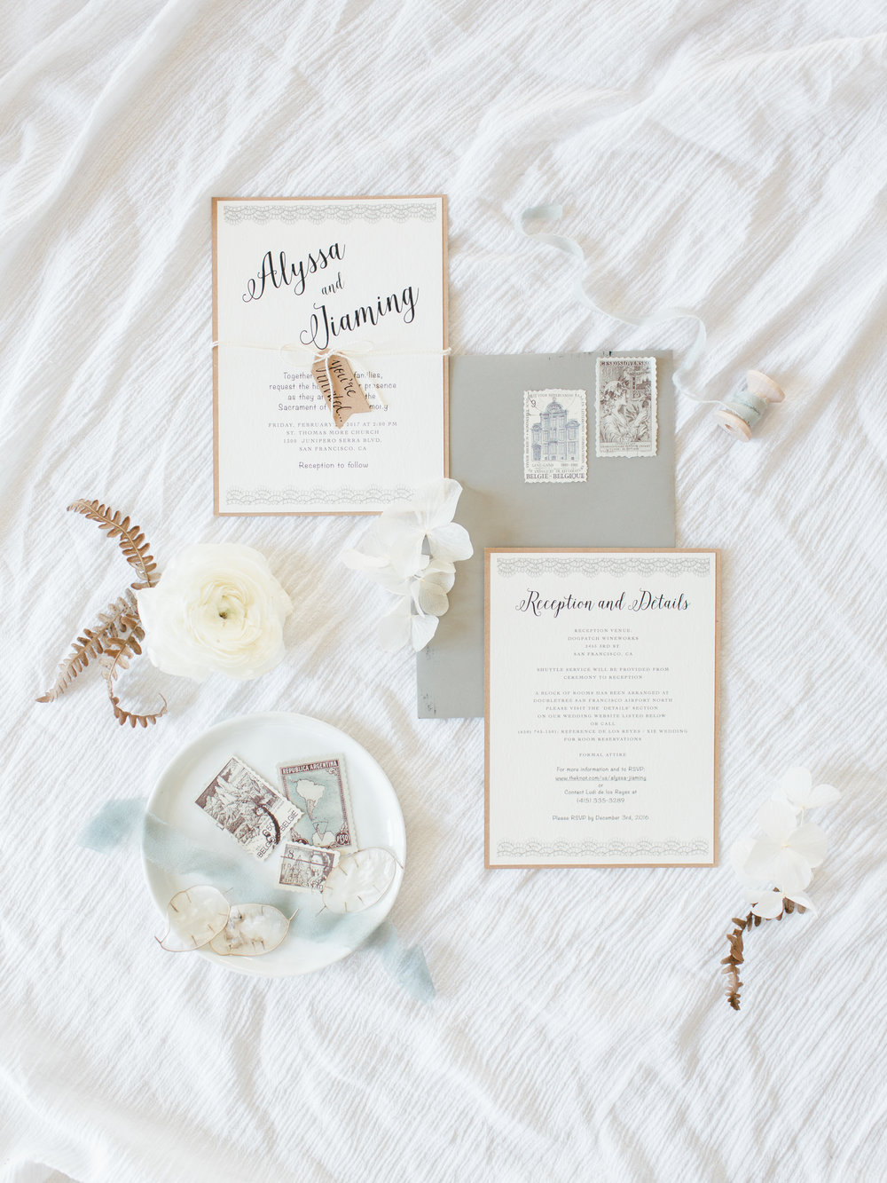 Invitation Suite - Fine Art Wedding Photography Jenny Soi
