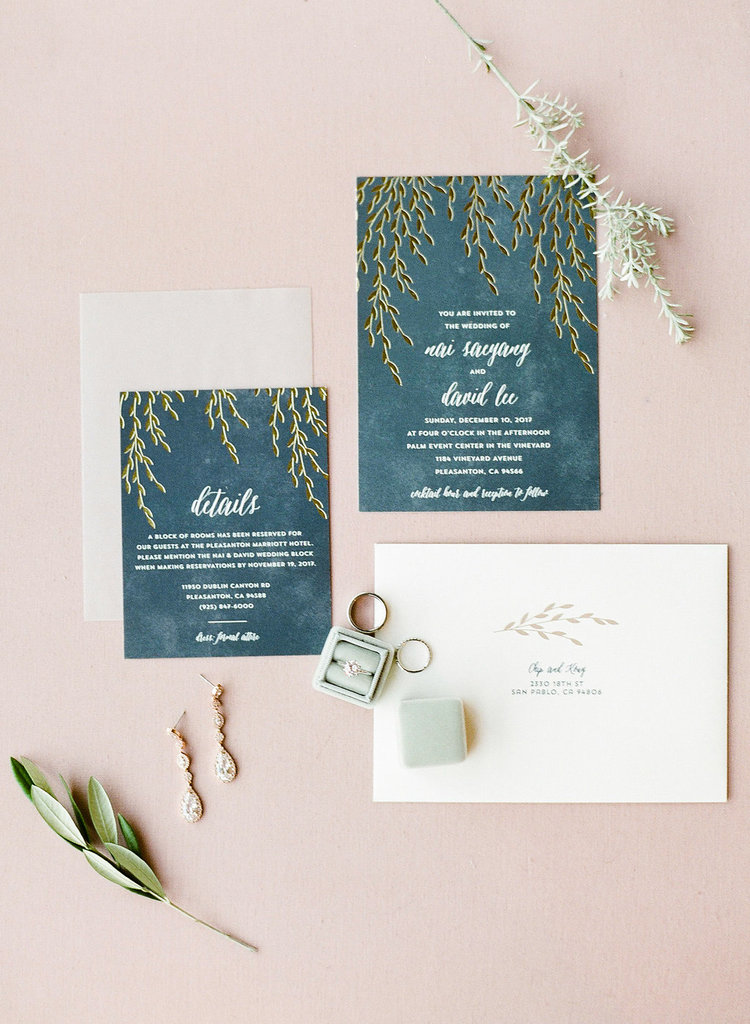 Romantic Winter Wedding | Palm Event Center Wedding Film ...