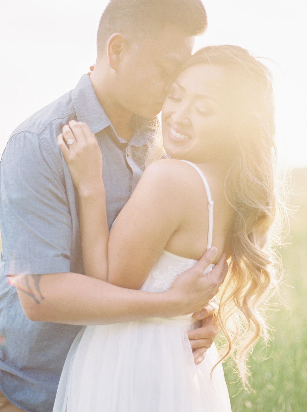 california sunset engagement session - Destination Film Photographer
