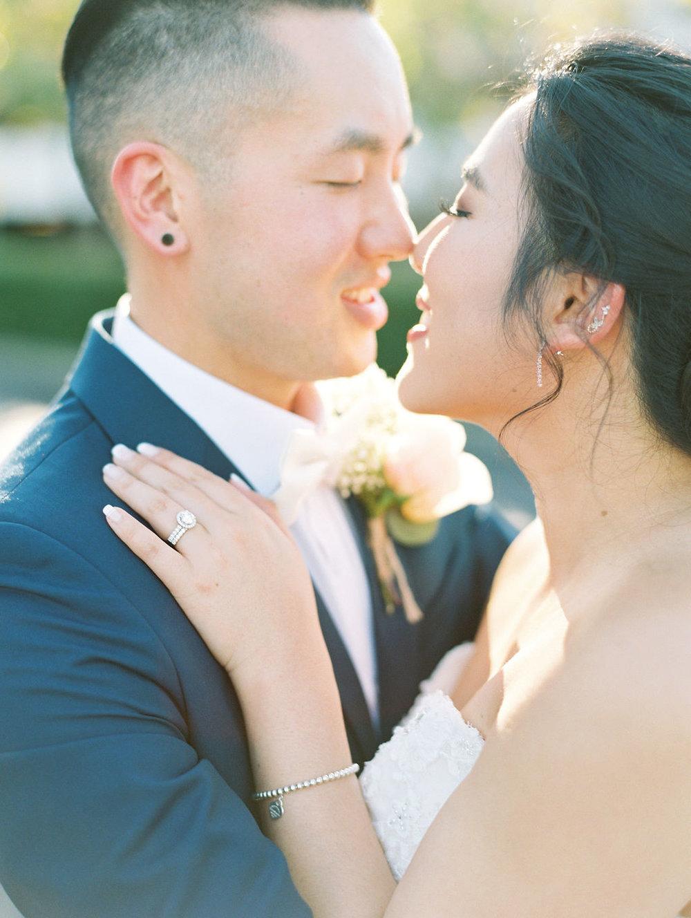 San Francisco Fairmont Hotel Wedding Fine Art Film Wedding Photographer