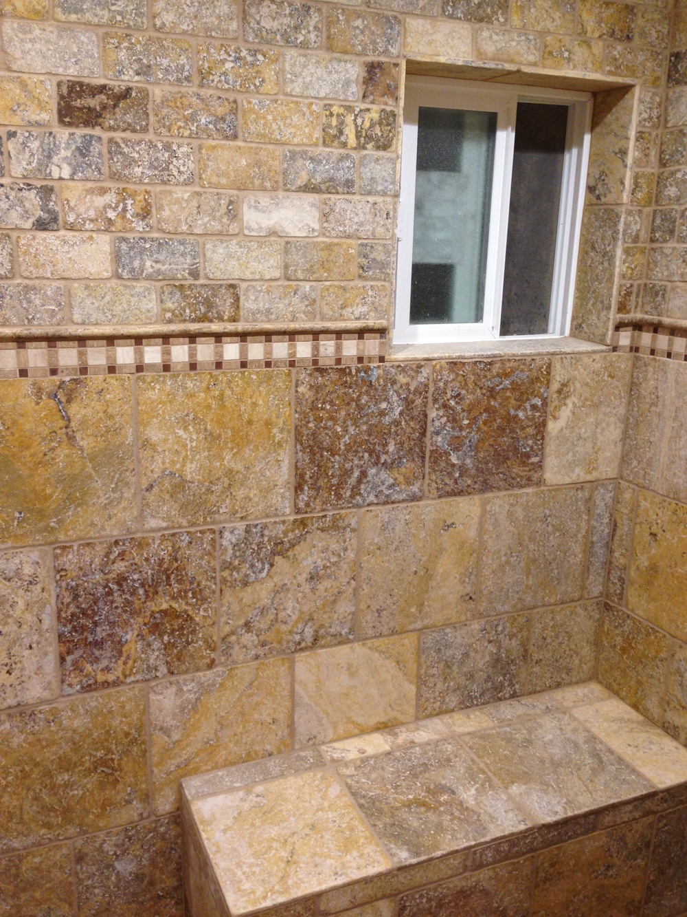Naturalstone travertinetiles scabos tile encounters for Best grout color for travertine tile