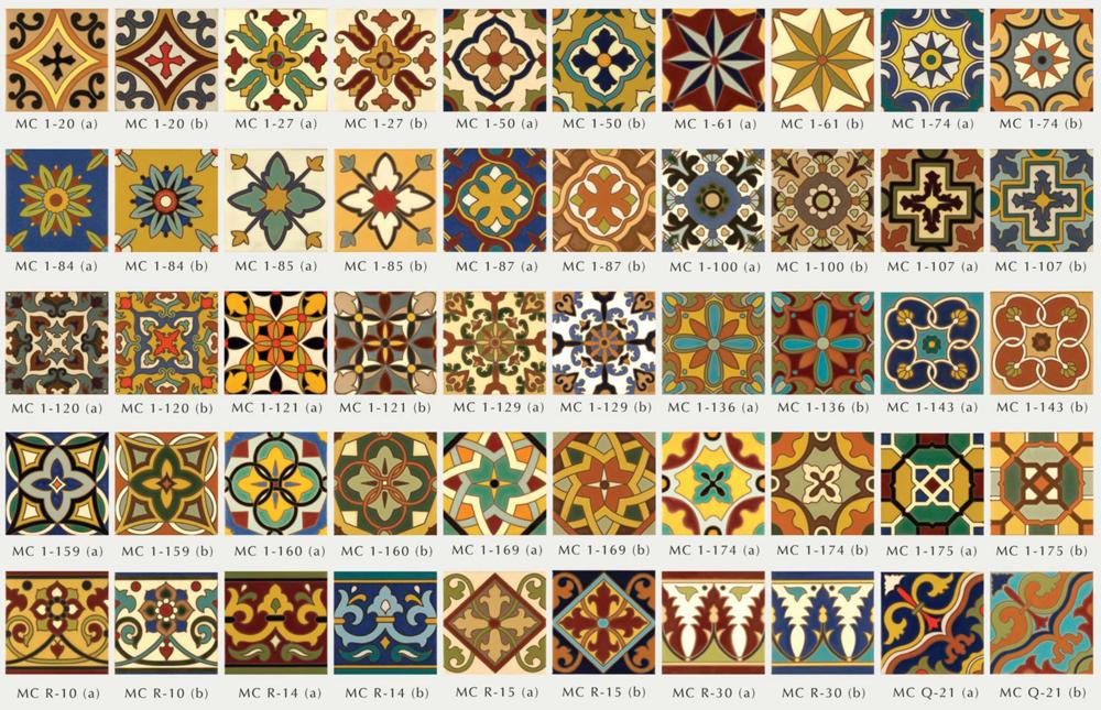 """Malibu Ceramic Works """"Quick Ship"""" Decos"""
