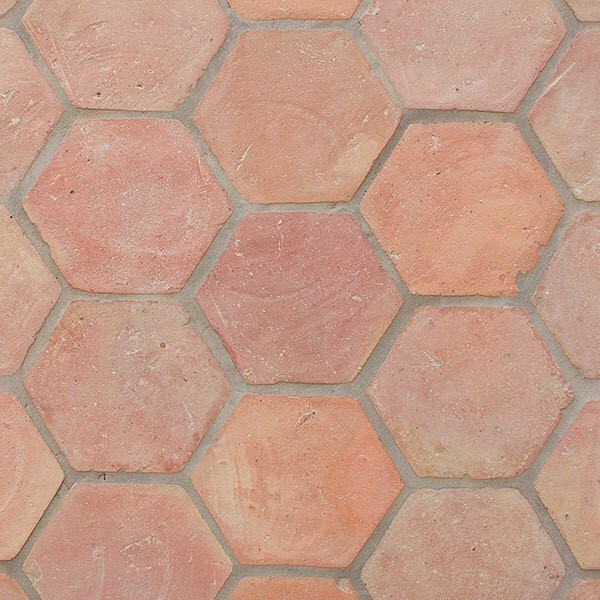 Aren't these handmade Terra Cotta clay tiles gorgeous? They would look great in any Spanish style home!