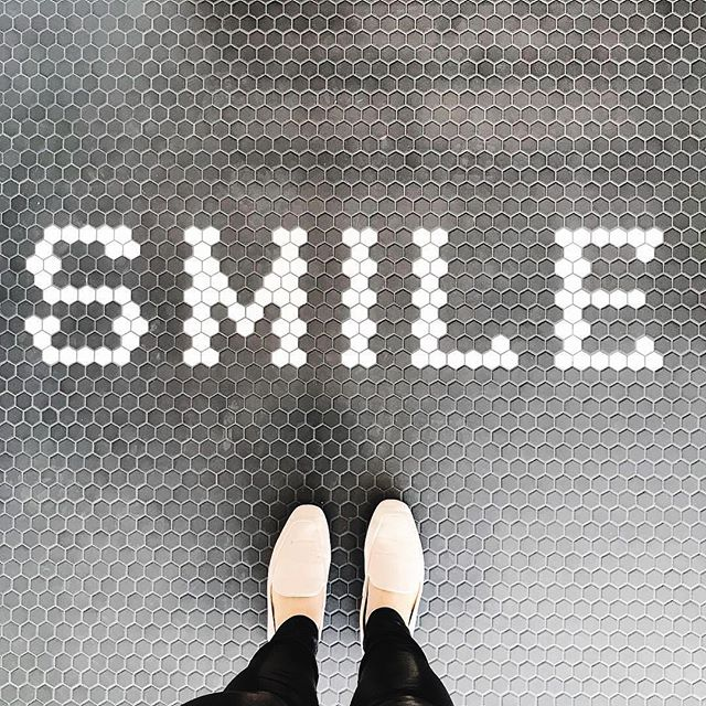 Tile makes us smile! 📷:@in.house.design