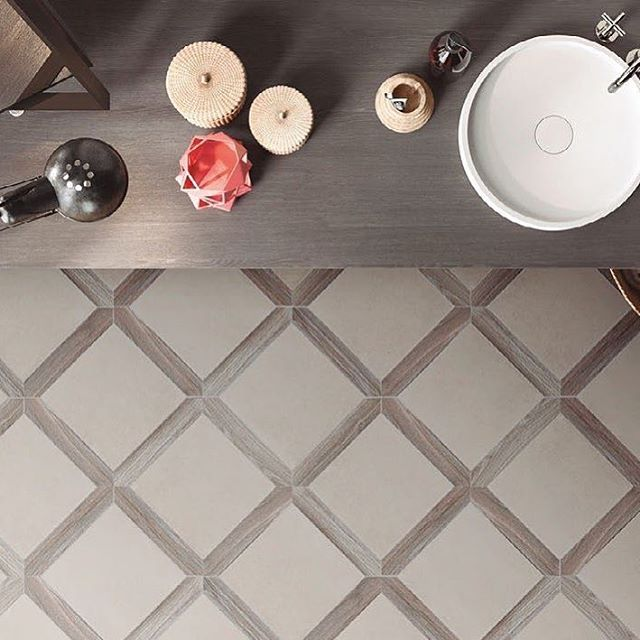 Here is a unique porcelain flooring option for you!