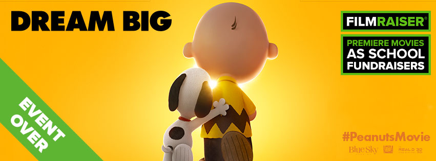 Thank you to every one who participated in The Peanuts Movie FilmRaiser!