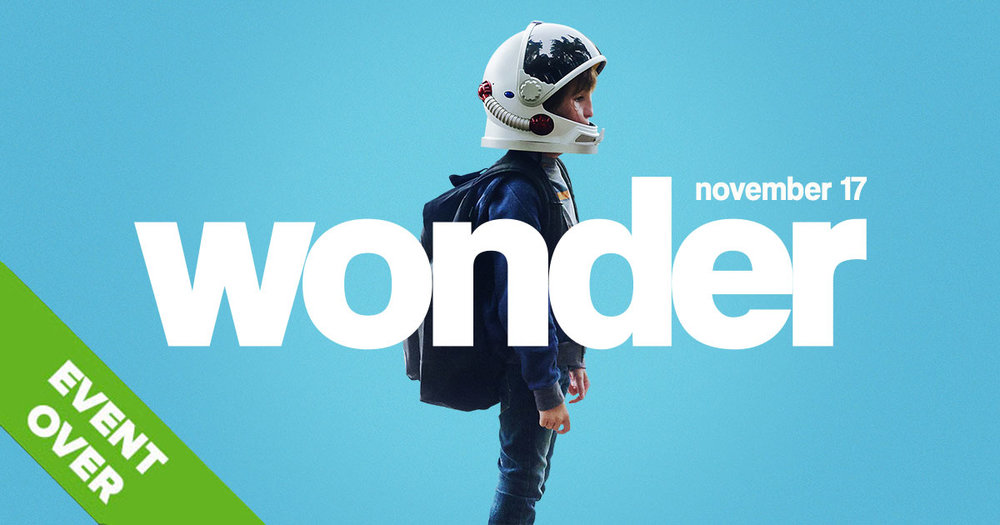 WONDER  - In theaters November 17th.