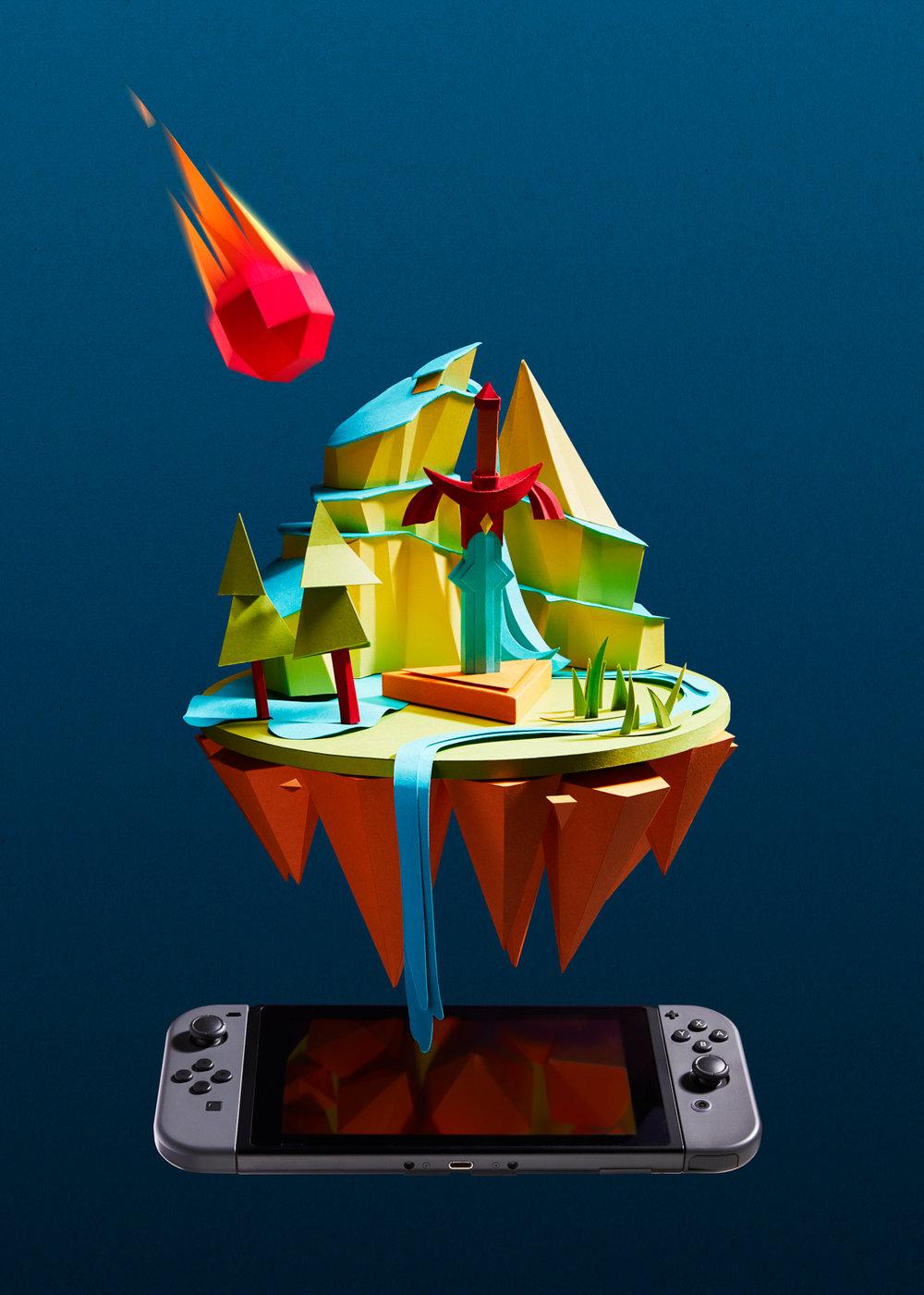 Zelda paper set