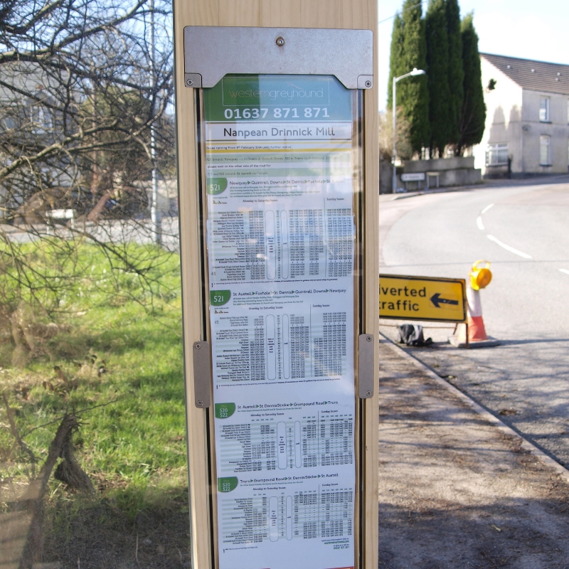 Integrated bus timetables