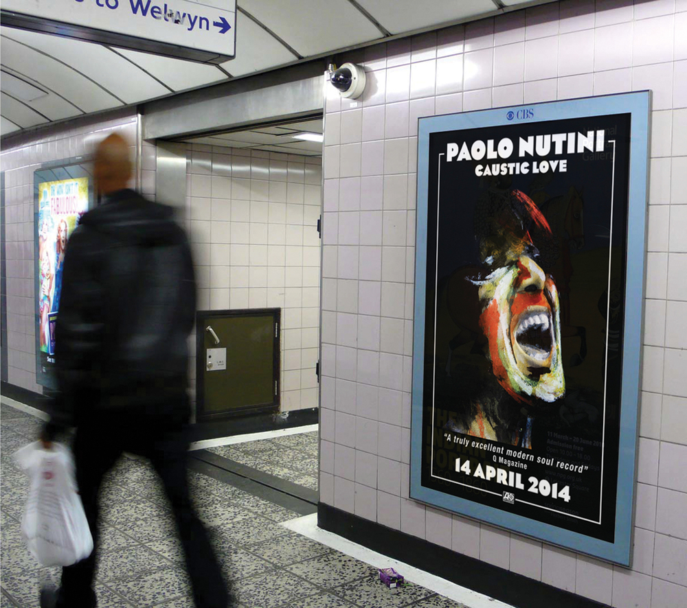 Caustic Love Tube Poster