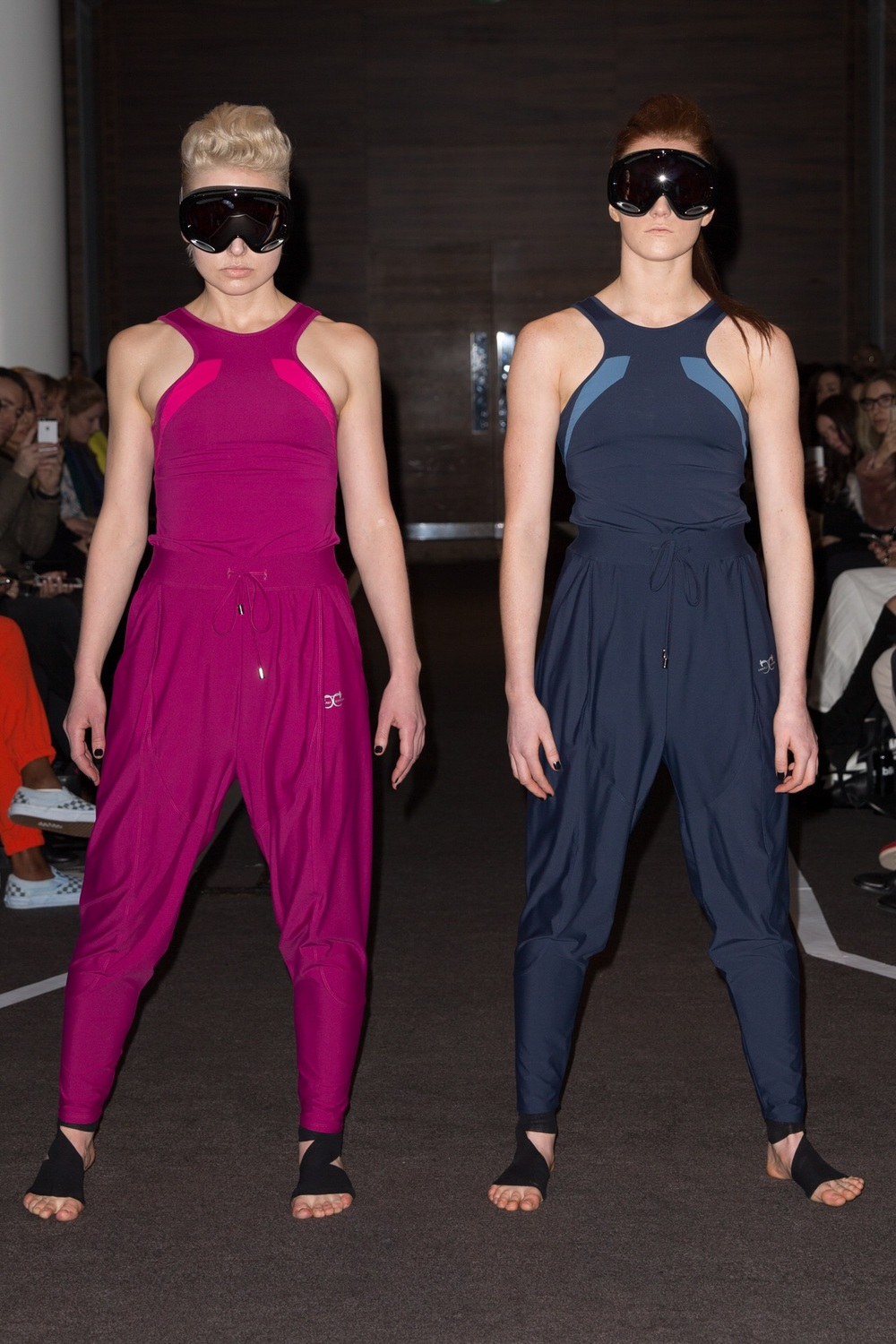 Photo Credit : Charli Cohen  |  Model : Ida May & Megan Jupp Isei Tank £110 | Saber Trackpant £140