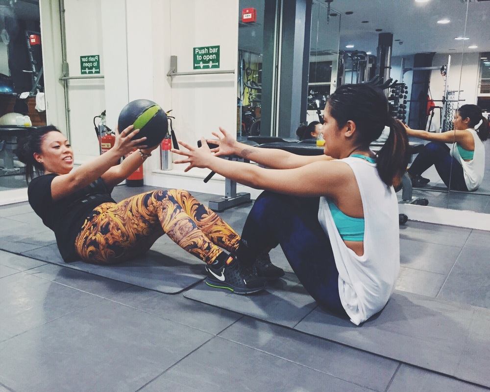 Training Session at LOMAX by the lovely LondonFitnessGuide