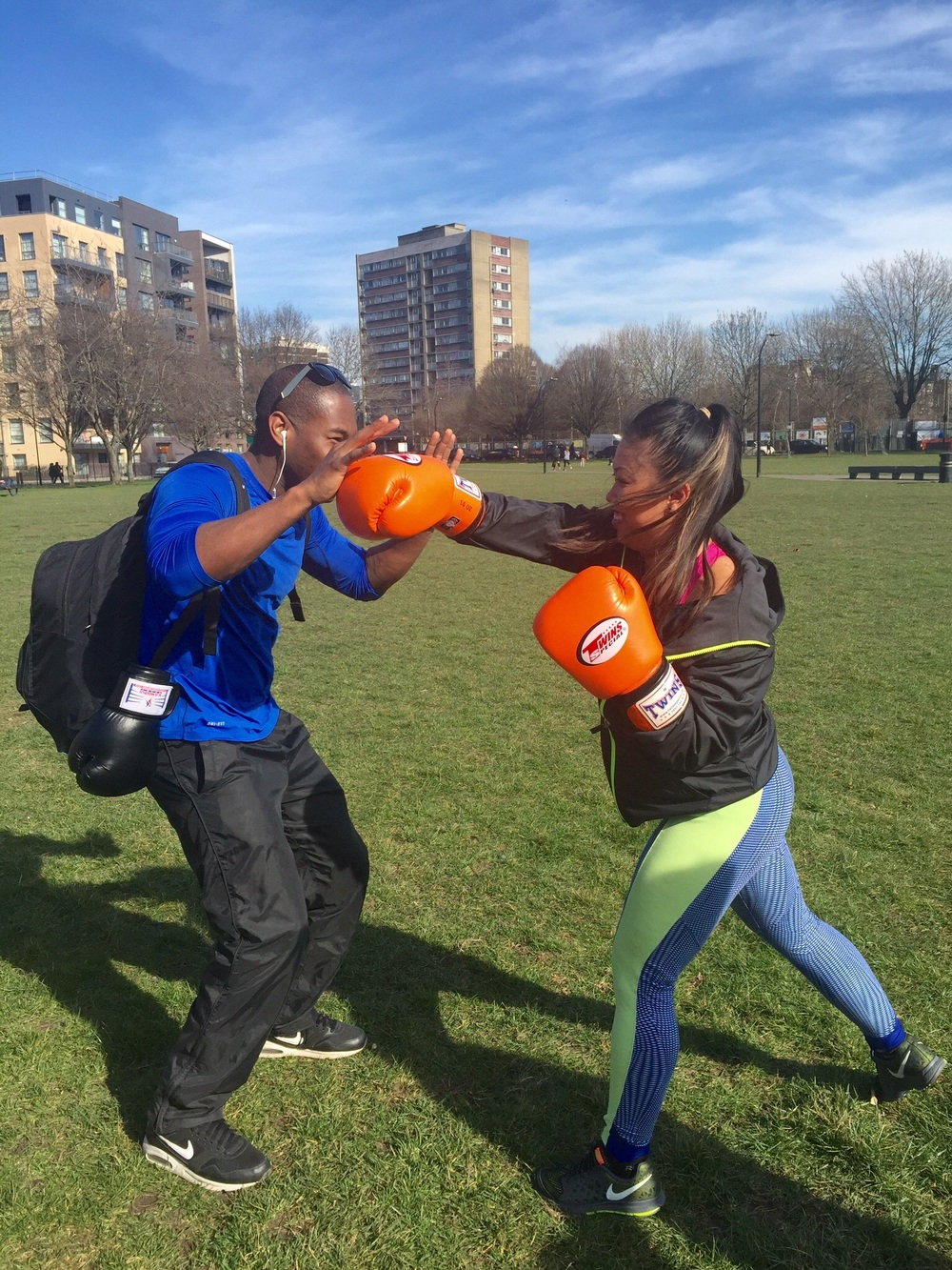 Boxing with the fitmibody team