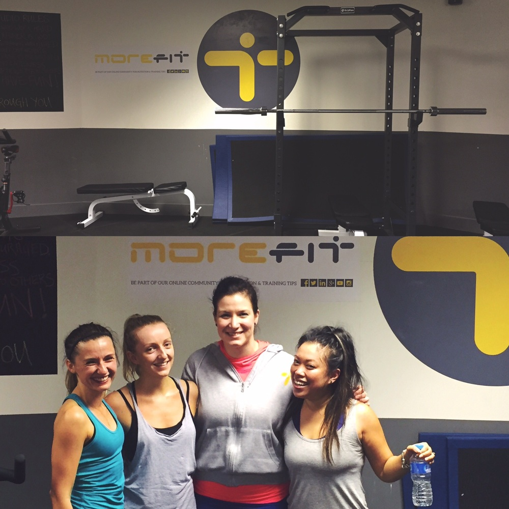 Superlegs at Morefit with Weronicka from Stronger Every Damn Day