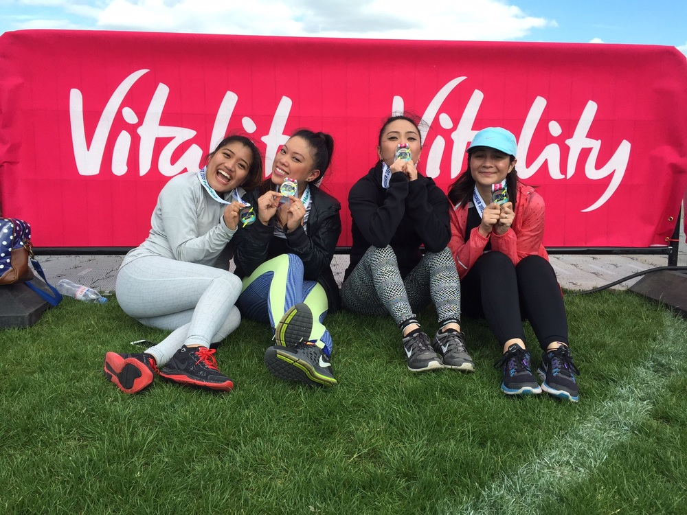 The training strengthened my confidence, I signed up to more runs with my fourfits girls !