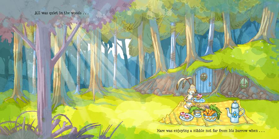 'The Big Splash!' - Hare's house