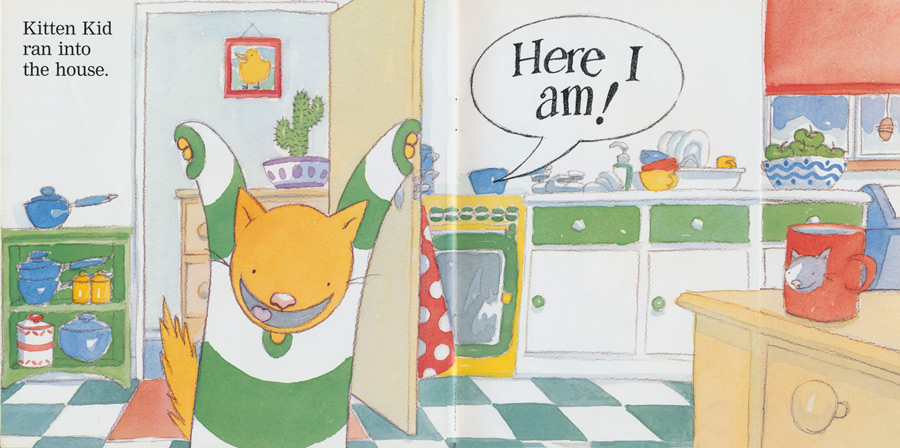 'Kitten Kid, Where Are You?' - Here I am!