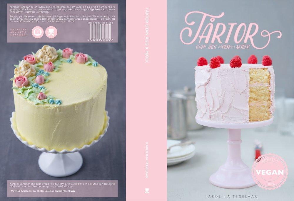 Tårtboken släpptes 2016 och är efter tre upplagor slutsåld.