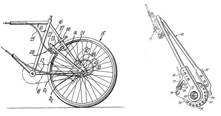 Torque arm brake system. Source Google patents.
