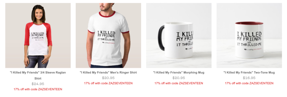 I Killed My Friends and It Thrilled Me