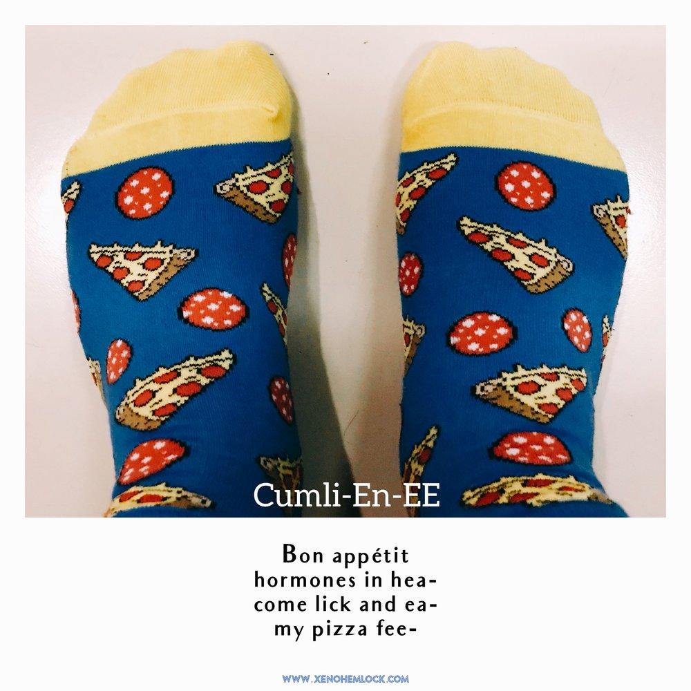 Xeno Hemlock Micro Poem Pizza CumliEnEE.JPG