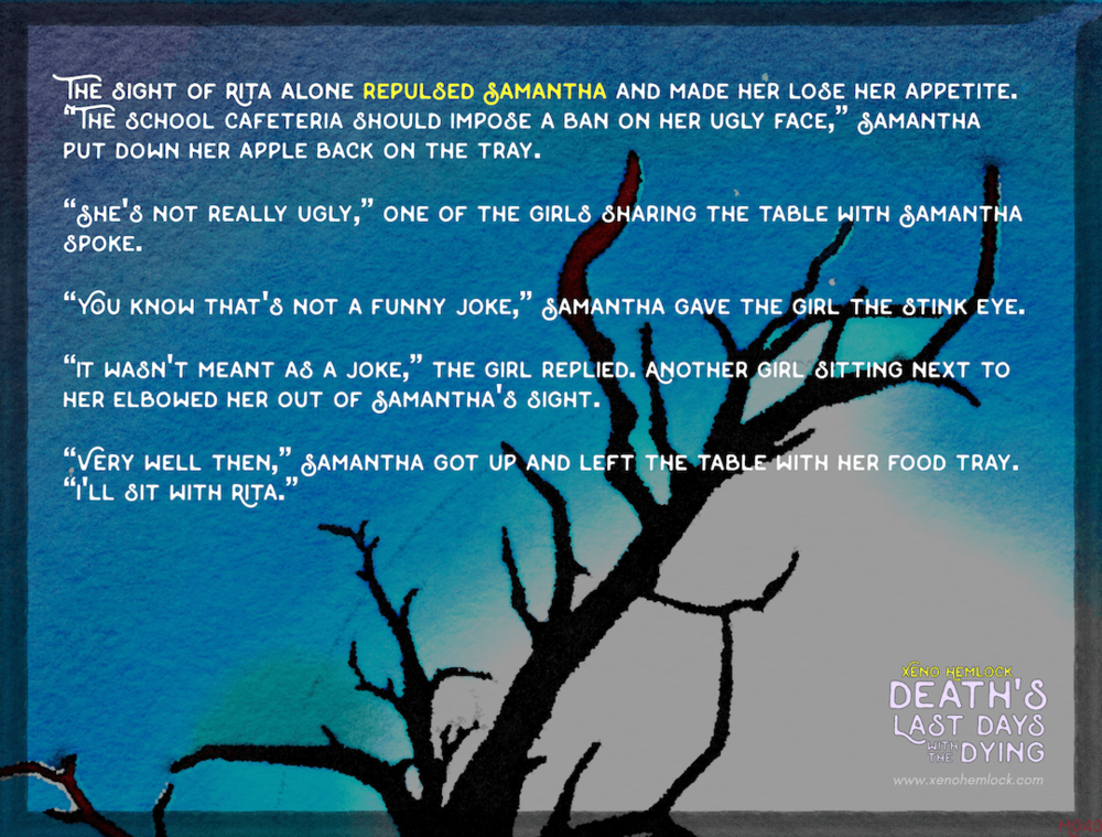 Xeno Hemlock Death Drabble Dying Repulsed Samantha.png