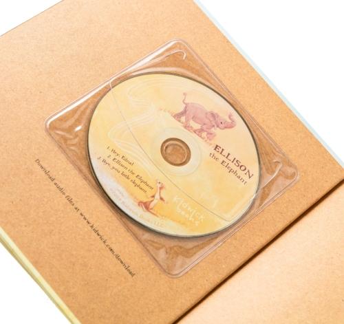 Clear CD sleeves & Audio CD Printing