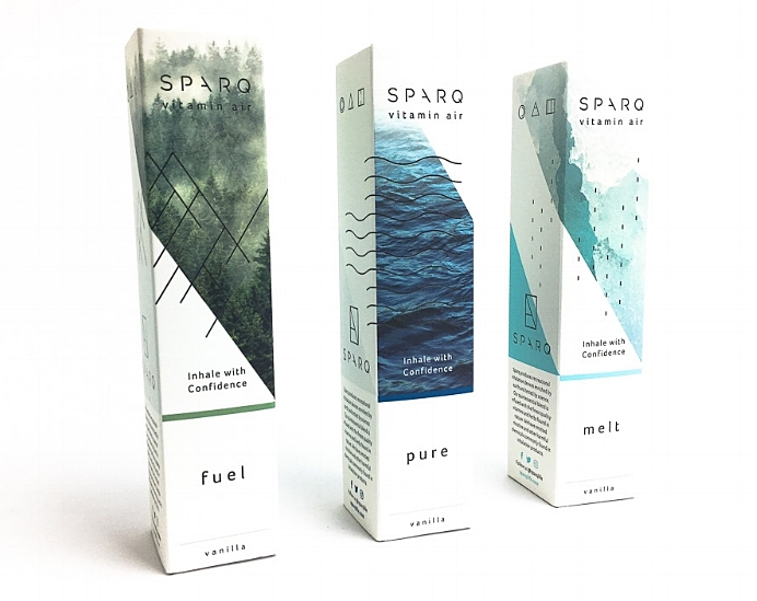 natural inhaler packaging