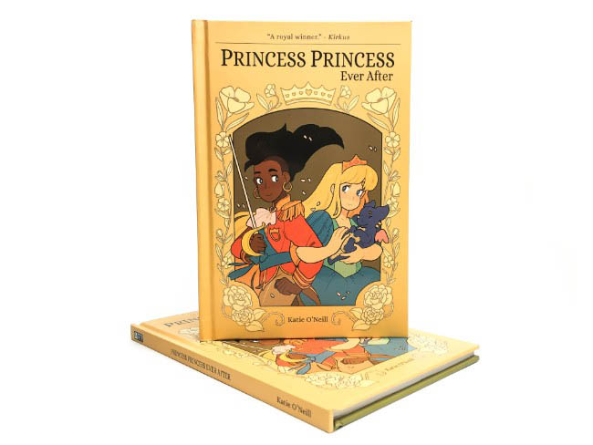 Princess Princess Ever After Onipress printer