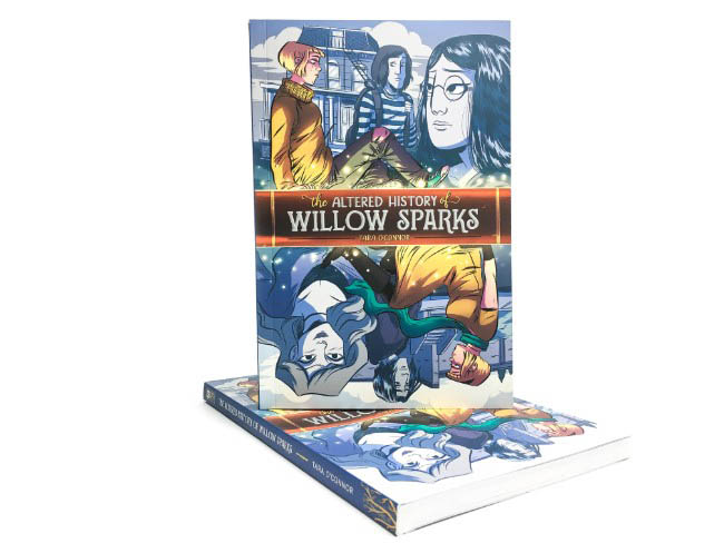 The altered History of Willow Sparks Oni Press Printer