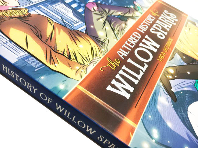The altered History of Willow Sparks Oni Press Printer in China