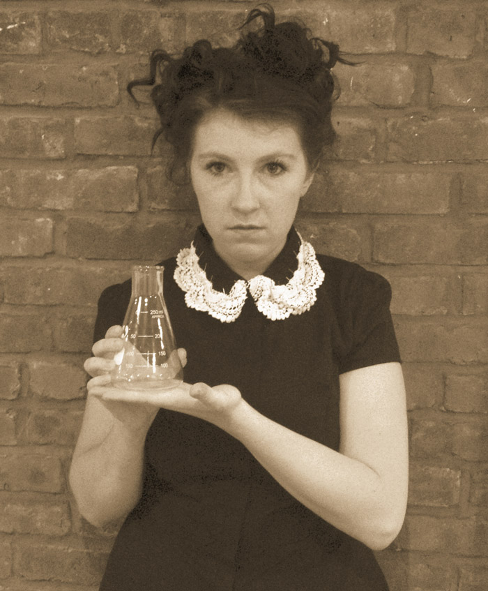 Eliza McCoy as Marie Curie