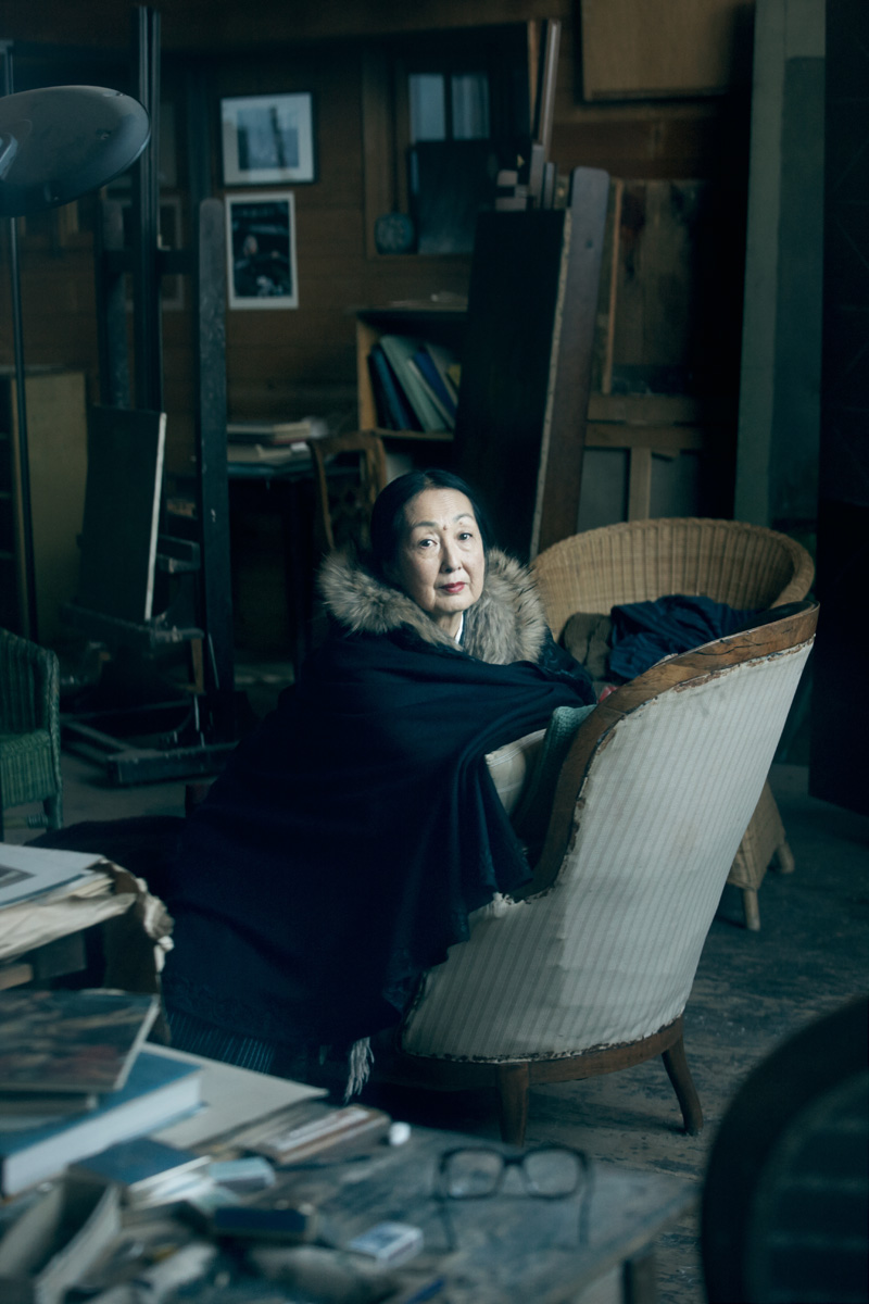 Setsuko in Balthus`s Atelier