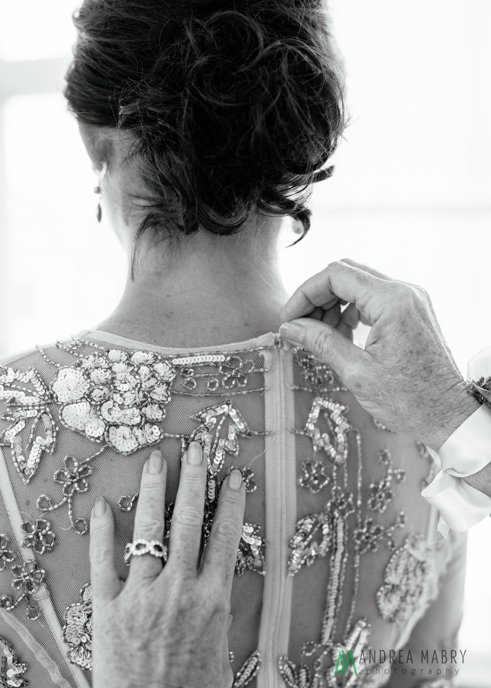 Bridal Preparation. Government Street Presbyterian Church Mobile Wedding. Andrea Mabry Photography.