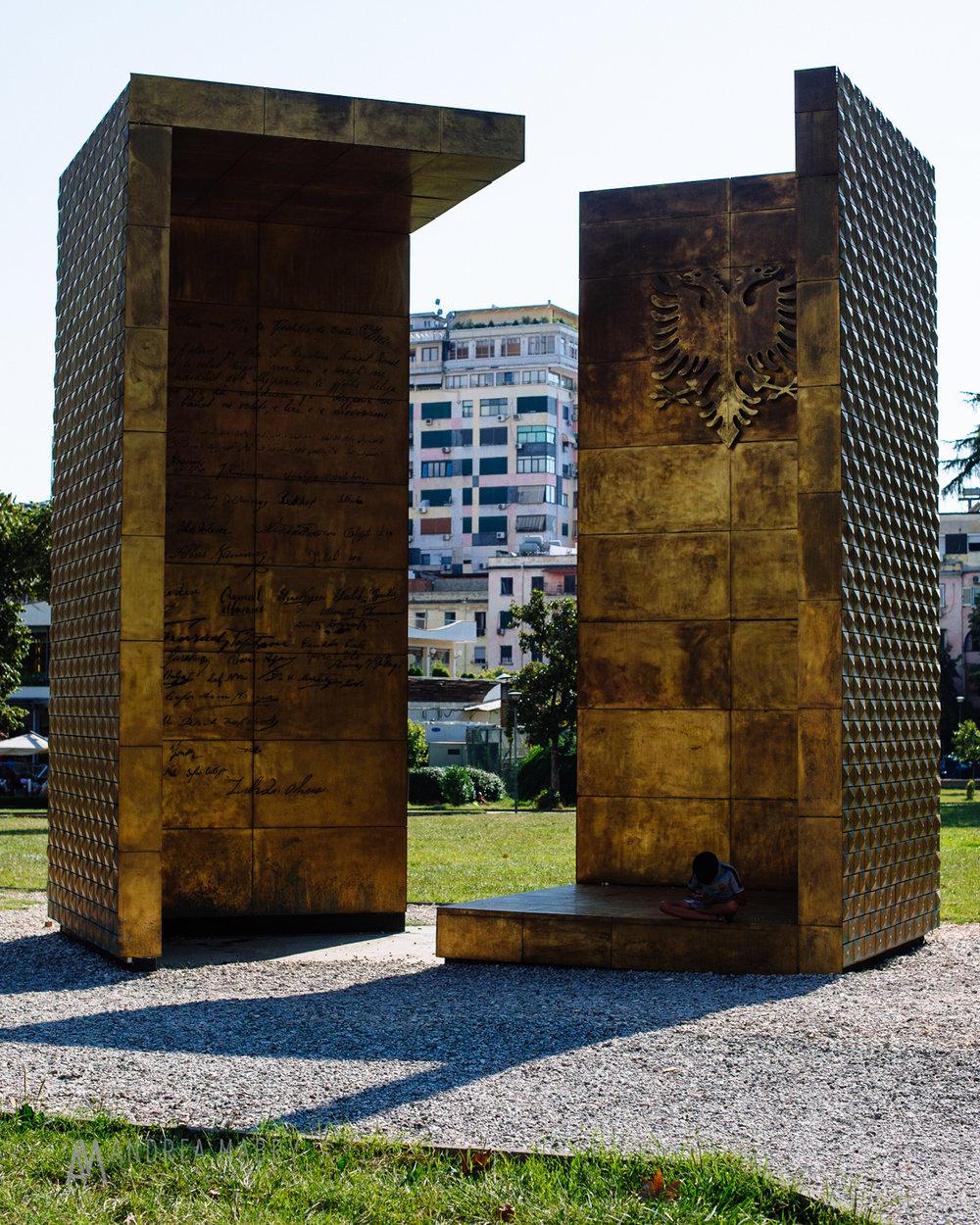 Albania independence monument, Tirana